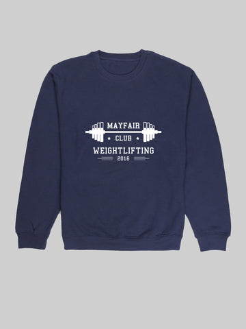 Mayfair Lifting Navy Sweatshirt