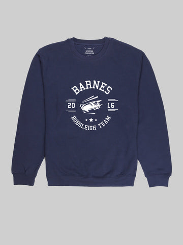 Barnes Bobsleigh Navy Sweatshirt