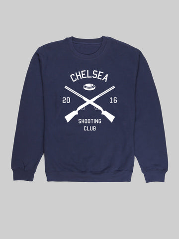 Chelsea Shooting Navy Sweatshirt