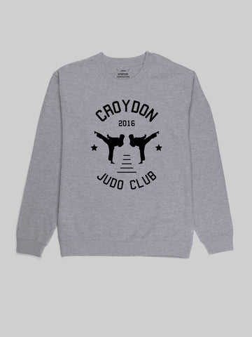 Croydon Judo Club Grey Sweatshirt