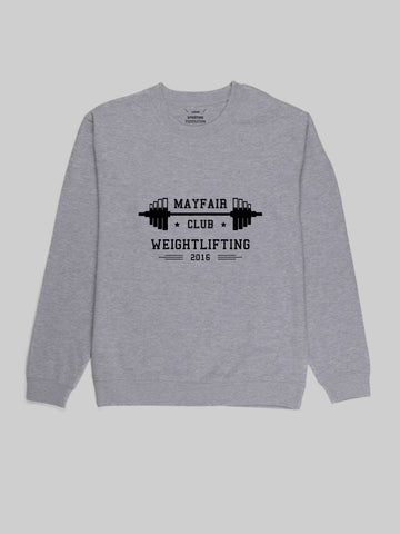 Mayfair Lifting Grey Sweatshirt