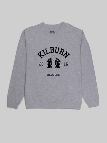 Kilburn Chess Club Grey Sweatshirt