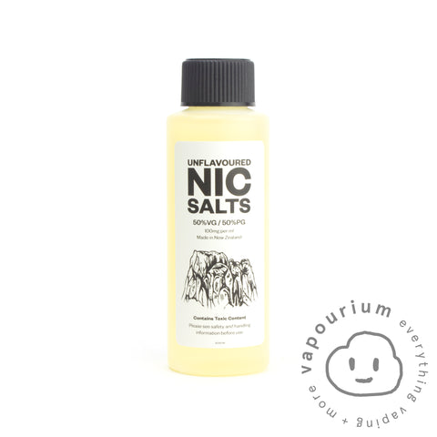 Unflavoured Nicotine Salt 50:50 PG/VG - 100mg/ml - 120ml ***AUSTRALIAN CUSTOMERS ONLY*** - Vapourium, Buy Vape NZ, Ecig, Vape Pens, Ejuice/Eliquid, Christchurch, Dunedin