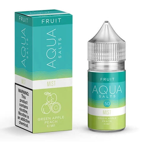 Aqua eJuice - Mist - Nicotine Salt - 30ml - Vapourium, Buy Vape NZ, Ecig, Vape Pens, Ejuice/Eliquid, Christchurch, Dunedin