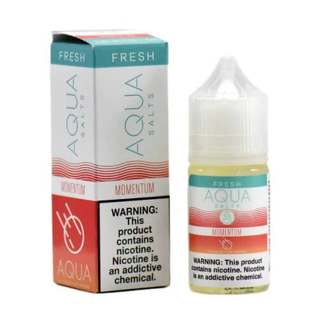 Aqua eJuice - Momentum Fresh - Nicotine Salt - 30ml - Vapourium, Buy Vape NZ, Ecig, Vape Pens, Ejuice/Eliquid, Christchurch, Dunedin