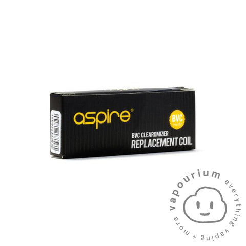 Aspire BVC Coils - 5 Pack - Vapourium, Buy Vape NZ, Ecig, Vape Pens, Ejuice/Eliquid, Christchurch, Dunedin