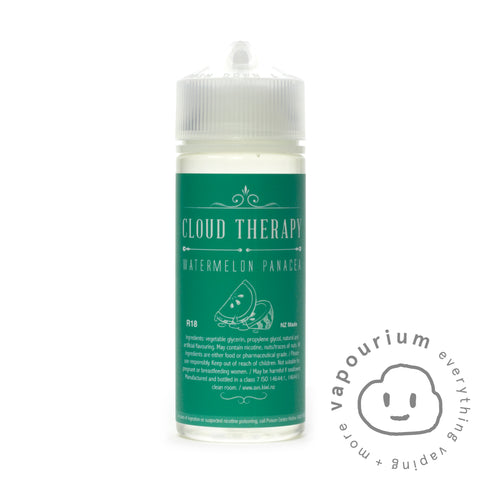 Cloud Therapy - Watermelon Panacea - 120ml - Vapourium, Buy Vape NZ, Ecig, Vape Pens, Ejuice/Eliquid, Christchurch, Dunedin