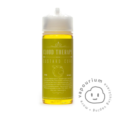 Cloud Therapy - Custard Cure - 120ml - Vapourium, Buy Vape NZ, Ecig, Vape Pens, Ejuice/Eliquid, Christchurch, Dunedin