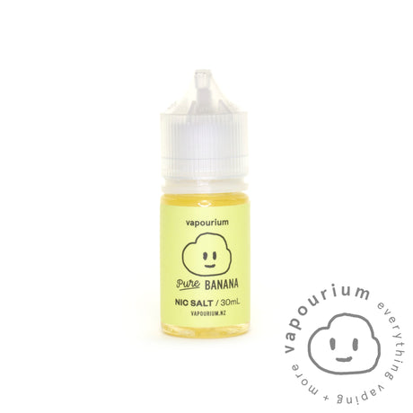Pure - Banana - 30ml - Nic Salt  - Vapourium, Buy Vape NZ, Ecig, Vape Pens, Ejuice/Eliquid, Christchurch, Dunedin, Timaru, Auckland, Nelson