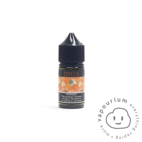 Fruitia Nic Salt - Sweet Peach Soda - 30ml - Vapourium, Buy Vape NZ, Ecig, Vape Pens, Ejuice/Eliquid, Christchurch, Dunedin