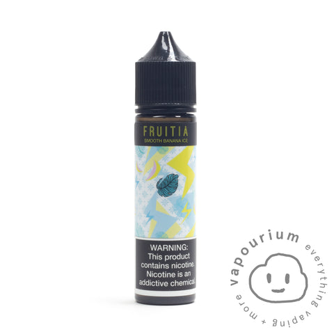 Fruitia - Smooth Banana Ice - 60ml - Vapourium, Buy Vape NZ, Ecig, Vape Pens, Ejuice/Eliquid, Christchurch, Dunedin, Timaru, Auckland, Nelson