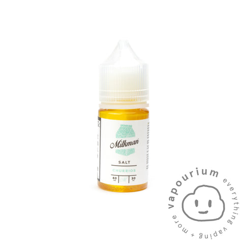 The Milkman Salt - Churros - 30ml Nicotine Salt - Vapourium, Buy Vape NZ, Ecig, Vape Pens, Ejuice/Eliquid, Christchurch, Dunedin