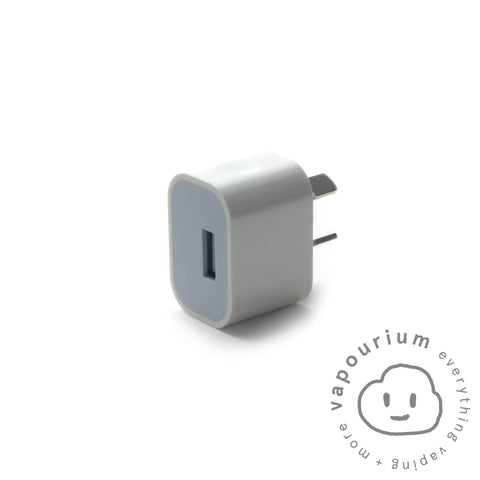 2A USB Fast Charge Wall Adapter - Vapourium, Buy Vape NZ, Ecig, Vape Pens, Ejuice/Eliquid, Christchurch, Dunedin