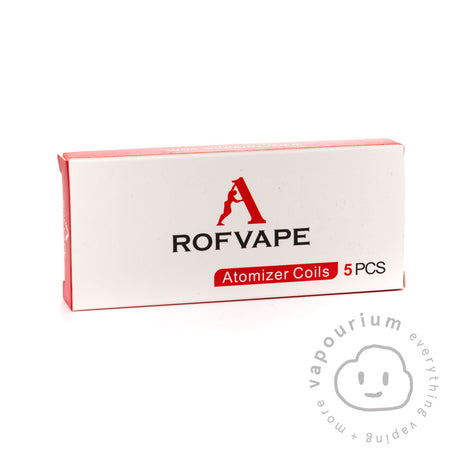 Rofvape Replacement Coils for the Stalin Vape Kit - 5 Pack - Vapourium, Buy Vape NZ, Ecig, Vape Pens, Ejuice/Eliquid, Christchurch, Dunedin