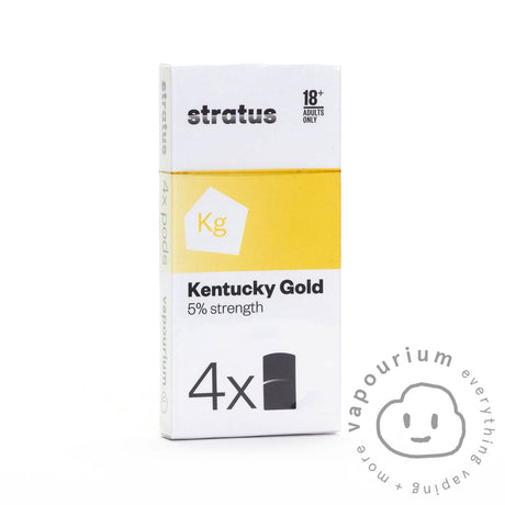 Vapourium Stratus Pods - Kentucky Gold - 4 Pack - Vapourium, Buy Vape NZ, Ecig, Vape Pens, Ejuice/Eliquid, Christchurch, Dunedin