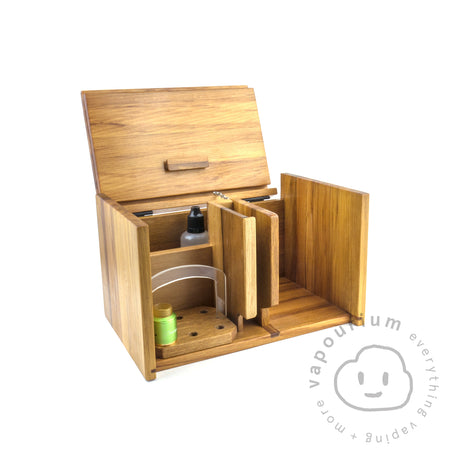 Handmade Recycled Timber Vape Box - Medium Size Vapourium NZ - New Zealand's Vape, Ecig & Eliquid Store Timaru Christchurch Dunedin 039748136