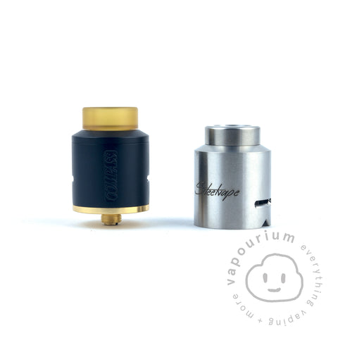 Steelvape Compass RDA - Vapourium, Buy Vape NZ, Ecig, Vape Pens, Ejuice/Eliquid, Christchurch, Dunedin