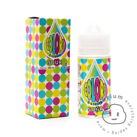 Colors Sour - 100ml - Vapourium, Buy Vape NZ, Ecig, Vape Pens, Ejuice/Eliquid, Christchurch, Dunedin