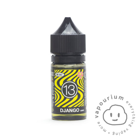 13th Floor Elevapors - Django - Nicotine Salt - 30ml - Vapourium, Buy Vape NZ, Ecig, Vape Pens, Ejuice/Eliquid, Christchurch, Dunedin