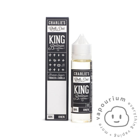 Charlies Chalk Dust - King Bellman 60ml - Vapourium, Buy Vape NZ, Ecig, Vape Pens, Ejuice/Eliquid, Christchurch, Dunedin