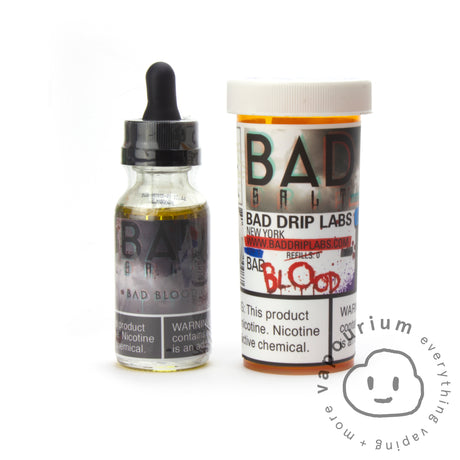 Bad Drip Labs- Bad Blood - 30ml - Nicotine Salt - Vapourium, Buy Vape NZ, Ecig, Vape Pens, Ejuice/Eliquid, Christchurch, Dunedin