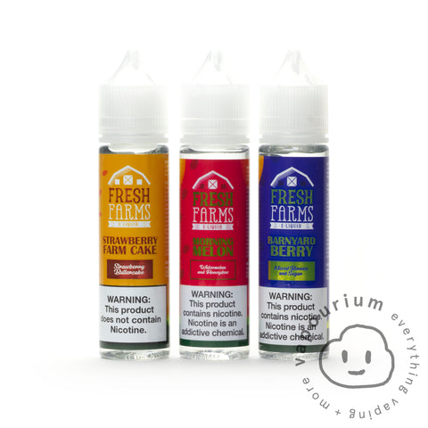 Fresh Farms - Morning Melon - 60ml - Vapourium, Buy Vape NZ, Ecig, Vape Pens, Ejuice/Eliquid, Christchurch, Dunedin