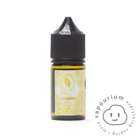Gold Leaf Eliquids Salts - Acapulco Salt - 30ml - Vapourium, Buy Vape NZ, Ecig, Vape Pens, Ejuice/Eliquid, Christchurch, Dunedin