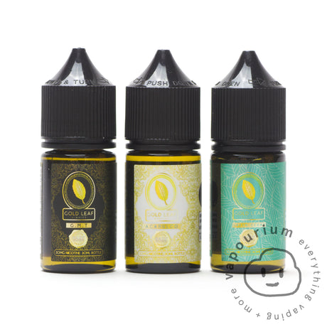 Gold Leaf Eliquids Salts - GMT Salt - 30ml - Vapourium, Buy Vape NZ, Ecig, Vape Pens, Ejuice/Eliquid, Christchurch, Dunedin