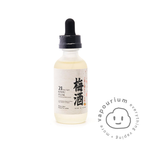Fusion Juice Kishu Plum - 60ml - Vapourium, Buy Vape NZ, Ecig, Vape Pens, Ejuice/Eliquid, Christchurch, Dunedin