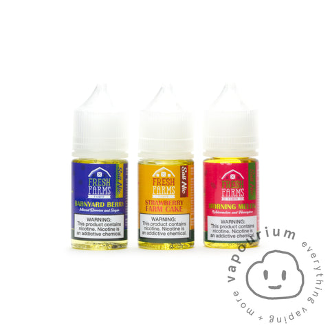Fresh Farms - Morning Melon Nic Salt - 30ml - Vapourium, Buy Vape NZ, Ecig, Vape Pens, Ejuice/Eliquid, Christchurch, Dunedin