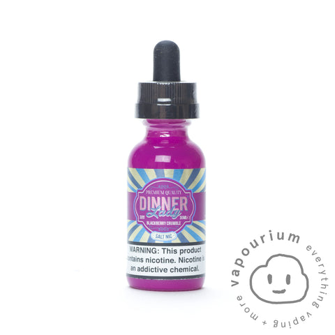 Dinner Lady - Blackberry Crumble - Nicotine Salt 30ml - Vapourium, Buy Vape NZ, Ecig, Vape Pens, Ejuice/Eliquid, Christchurch, Dunedin
