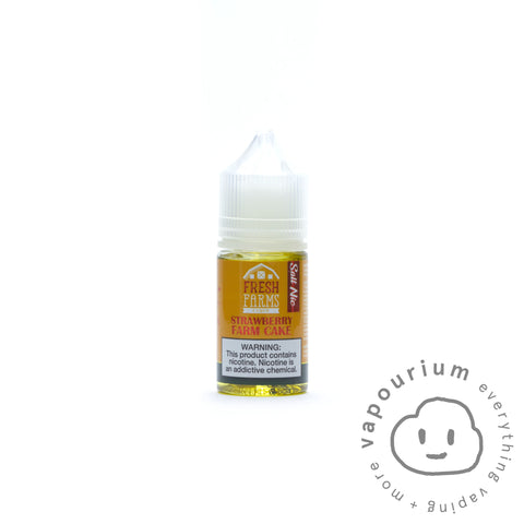 Fresh Farms - Strawberry Farm Cake Nic Salt - 30ml - Vapourium, Buy Vape NZ, Ecig, Vape Pens, Ejuice/Eliquid, Christchurch, Dunedin