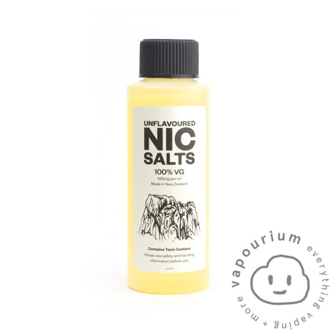 Unflavoured Nicotine Salt 100% VG - 100mg/ml - 120ml ***AUSTRALIAN CUSTOMERS ONLY***