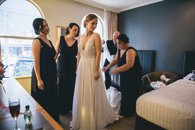 Cara & Paul's Fremantle Wedding