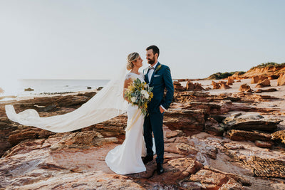 Ruth & Fraser's Broome Wedding