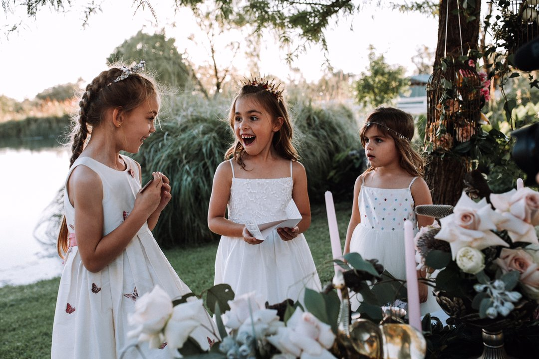 FLOWER GIRL & FIRST COMMUNION