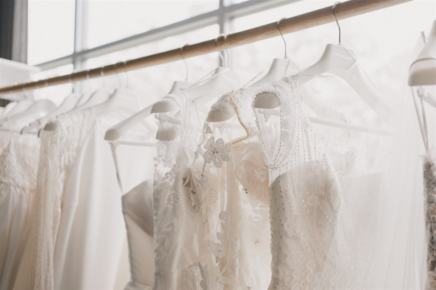 Wedding Dresses on Rack | Samantha Wynne