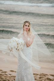 Melissa Veil by Samantha Wynne | Luxurious Lace Wedding Veil Perth
