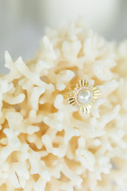 Star of the West Ring | Gold Cygnet Bay Pearl Broken Bay 9.5mm A2 | Samantha Wynne x Cygnet Bay Pearls