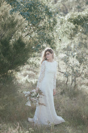Alexa by Samantha Wynne | Lace Long Sleeve Wedding Dress On Sale