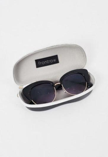 Cat Eye Sunglasses in Black - love frontrow