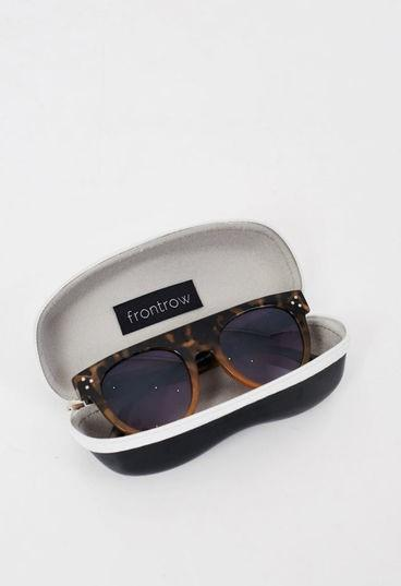 Tortoiseshell Flat Top Sunglasses - love frontrow