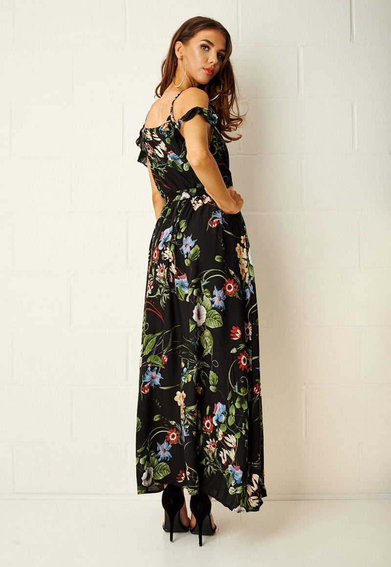 Paloma Floral Maxi Dress - love frontrow