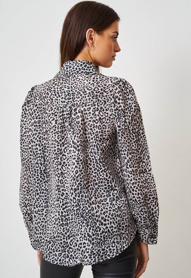Leopard Print Shirt - love frontrow