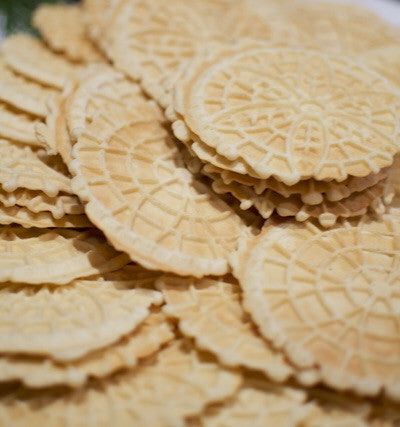 VANILLA or ANISE PIZZELLES