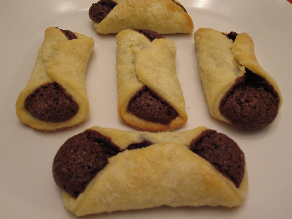 NUT FILLED KOLACHKI COOKIES