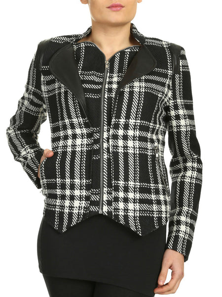 Cutie Double Layered Jacket - Black