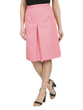Cutie Pink Pleat Front Skirt