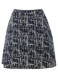 Cutie Black Criss Cross Skirt - Black
