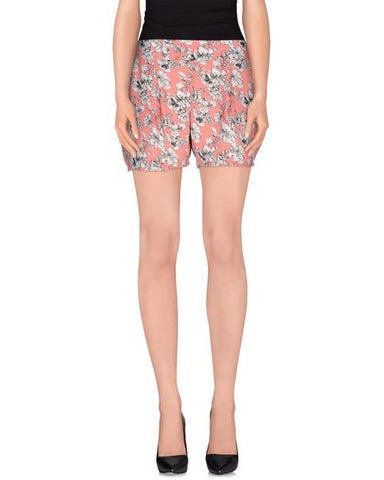 Cutie Floral Print Shorts - Pink